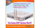 HT740A i3-4010u Haswell Intel Dual Core 1.7GHz with 4-wire CPU Fanless Mini PC Barebone